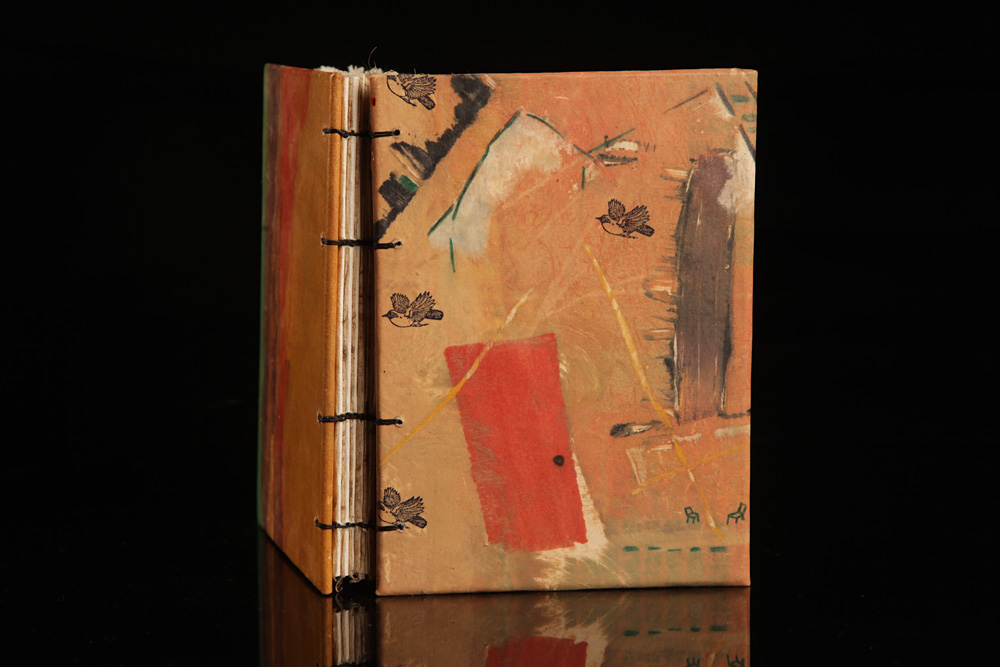 Book Cover Watercolor Art ~ Handmade books sandra whiting artist